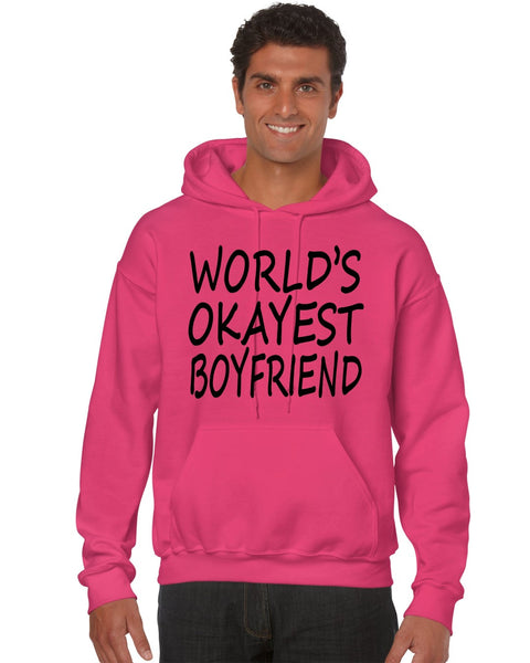 World's OKayest boyfriend men Hoodie - ALLNTRENDSHOP - 3