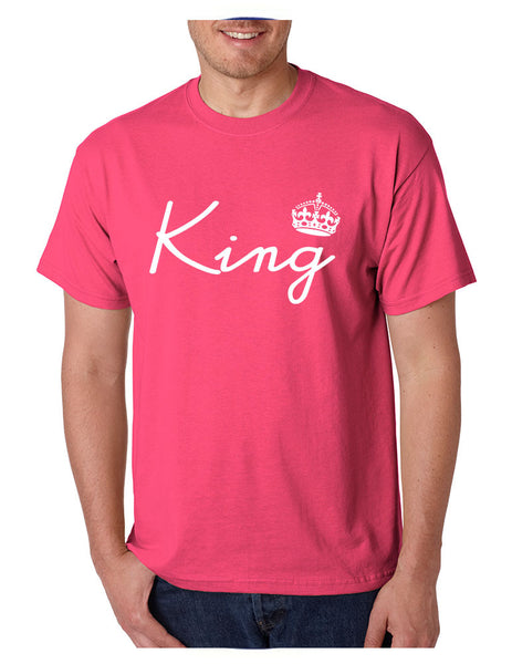 King with crown men t-shirt - ALLNTRENDSHOP - 5