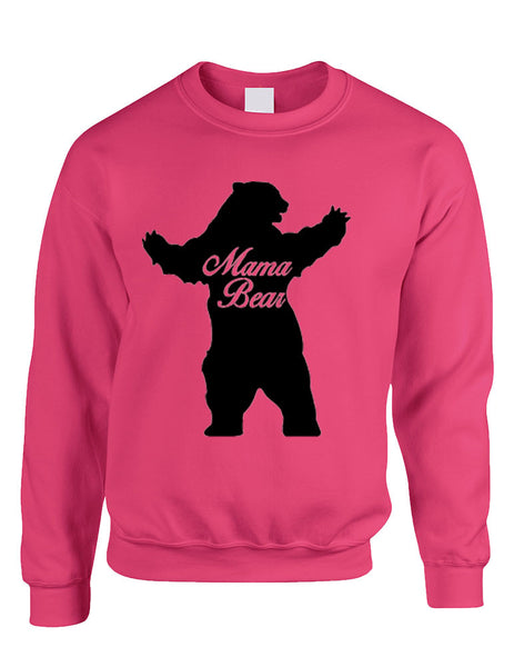 Adult Crewneck Mama Bear Family Top For Mom Xmas Cute Gift - ALLNTRENDSHOP - 6
