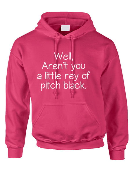 Adult Hoodie Well Aren't You A Little Ray Of Pitch Black Sarcasm Fun