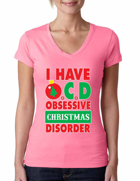 Obsessive christmas disorder Women's Sporty V - ALLNTRENDSHOP - 2