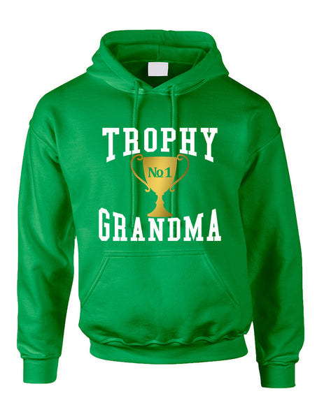 Adult Hoodie Trophy Grandma Cool Xmas Love Family Gift Top - ALLNTRENDSHOP - 4