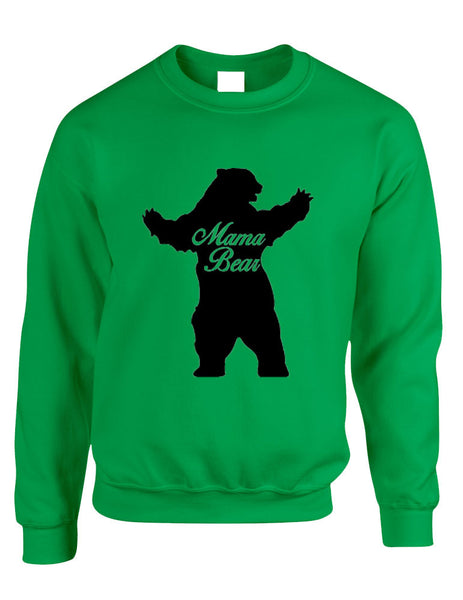 Adult Crewneck Mama Bear Family Top For Mom Xmas Cute Gift - ALLNTRENDSHOP - 5