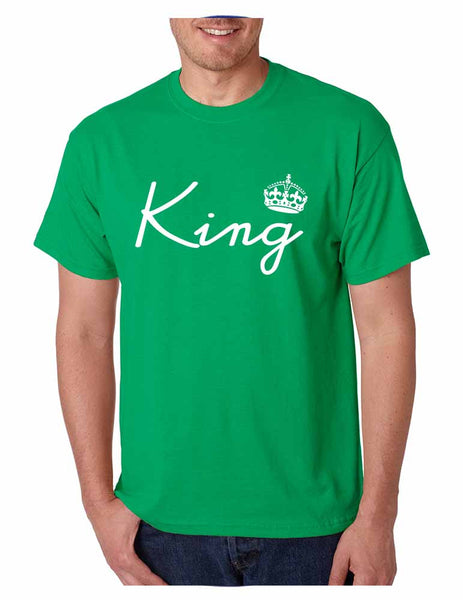 King with crown men t-shirt - ALLNTRENDSHOP - 2