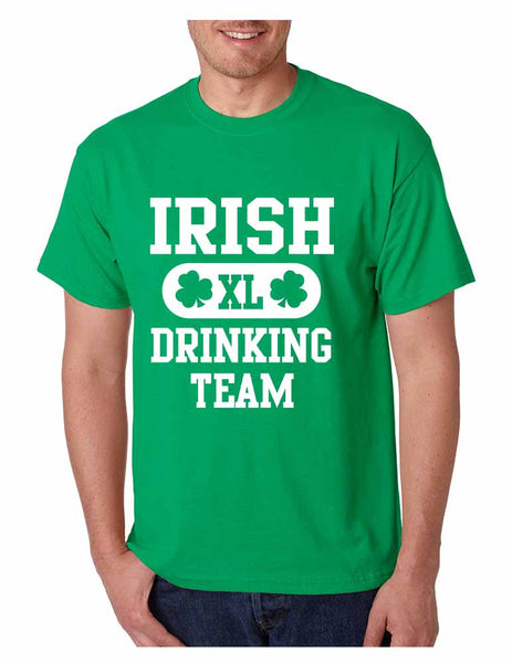 Irish drinking team Men T-shirt - ALLNTRENDSHOP - 1