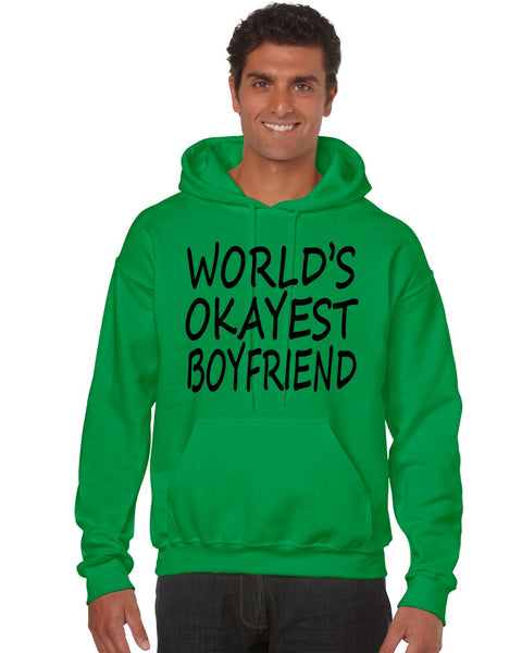 World's OKayest boyfriend men Hoodie - ALLNTRENDSHOP - 4