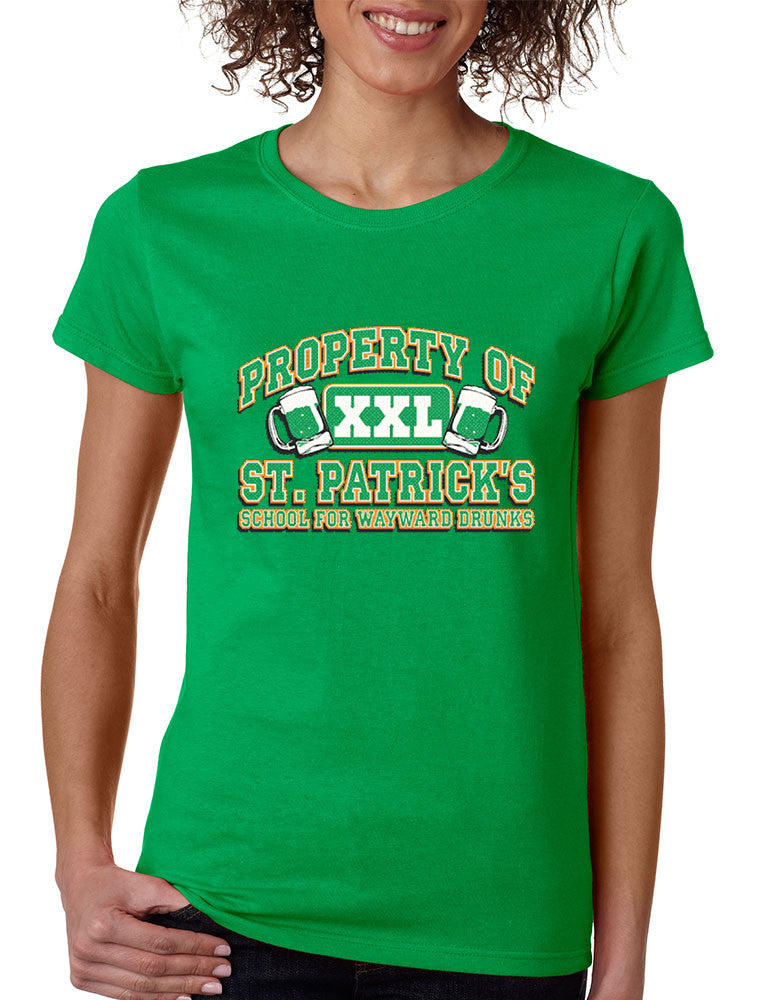 PROPERTY OF St patrick women t-shirt - ALLNTRENDSHOP - 1