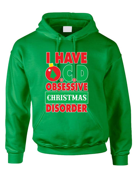 Obsessive christmas disorder Women's Hoodies - ALLNTRENDSHOP - 2