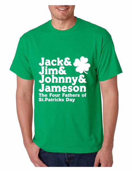 The four fathers of st patricks day men T-shirt - ALLNTRENDSHOP - 3