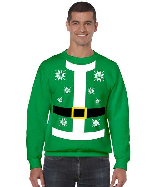 Santa suit Men's Sweatshirt - ALLNTRENDSHOP - 3