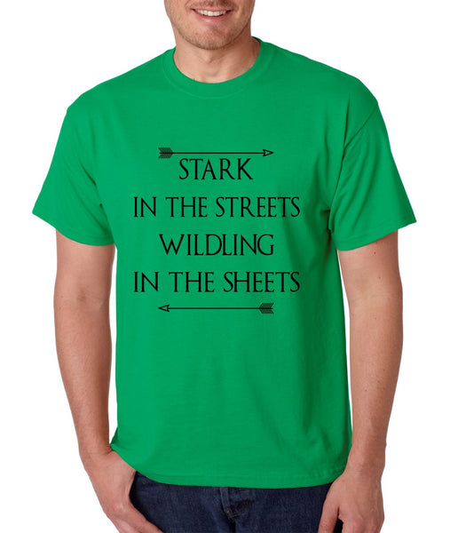Stark in the streets wildling in the sheets mens t-shirt - ALLNTRENDSHOP - 3