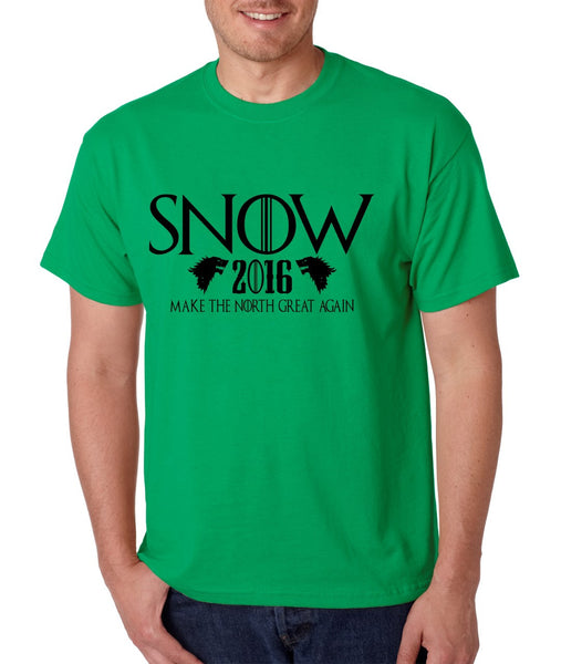 Snow 2016 Make The North Great Again men t shirt - ALLNTRENDSHOP - 5
