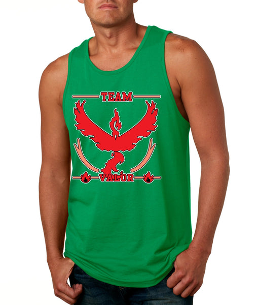 Men's Tank Top Team Valor Red Team Cool Top - ALLNTRENDSHOP - 3