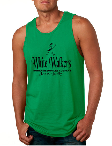 Men's Tank Top White Walkers Human Resources Company
