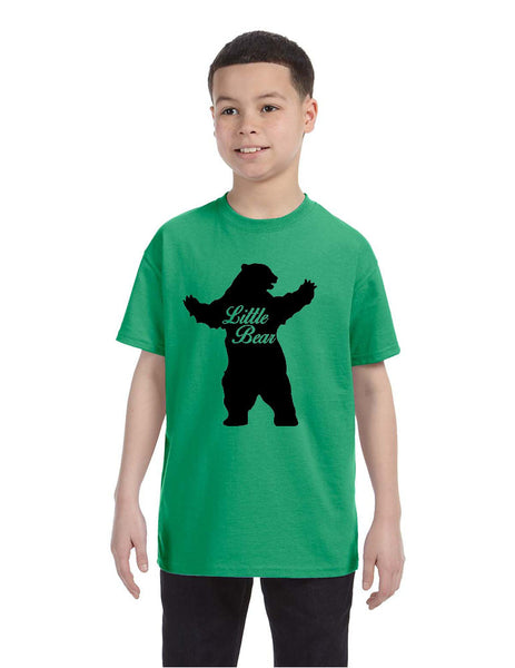Kids T Shirt Little Bear Family Shirt Xmas Cute Holiday Gift - ALLNTRENDSHOP - 5