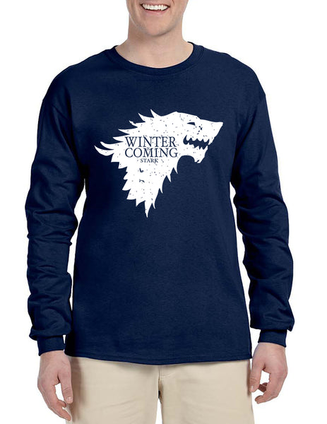 Men's Long Sleeve Winter Is Coming Cool T Shirt Popular Gift
