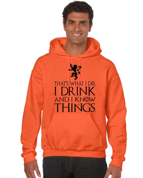 That What I Do I Drink And I Know Things men Hoodie - ALLNTRENDSHOP - 5