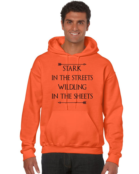 Stark in the streets wildling in the sheets men Hoodie - ALLNTRENDSHOP - 7
