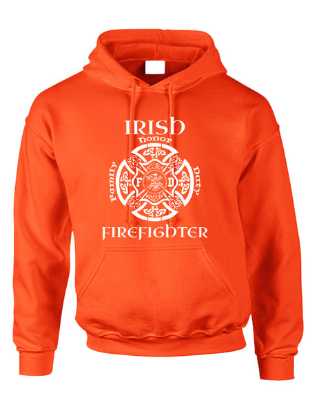 Adult Hoodie Irish Firefighter St Patrick's Top Love Irish Party - ALLNTRENDSHOP - 3