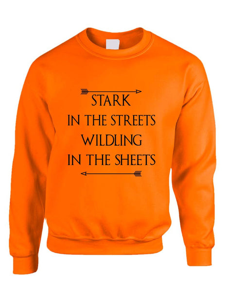 Stark in the streets wildling in the sheets womens Sweatshirt - ALLNTRENDSHOP - 2