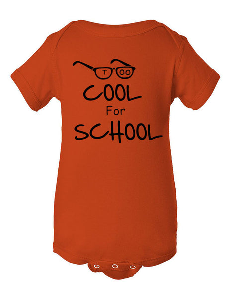 Too cool for School Infant Creeper - ALLNTRENDSHOP - 4