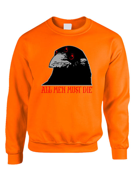 Three-eyed Crow All men must die women sweatshirt - ALLNTRENDSHOP - 6