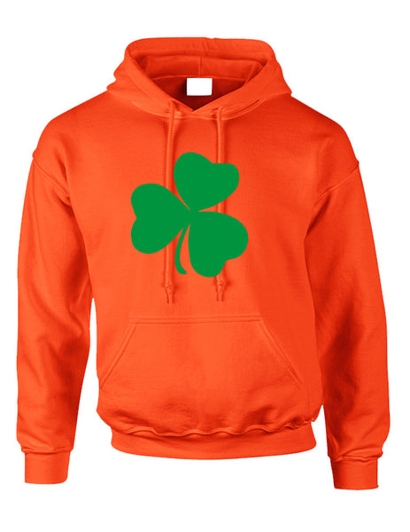 Adult Hoodie Green Shamrock Graphic St Patrick's Day Top - ALLNTRENDSHOP - 2
