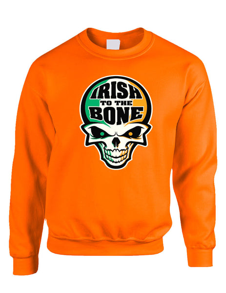 Irish To The Bone Skull women sweatshirt St Patrik - ALLNTRENDSHOP - 1
