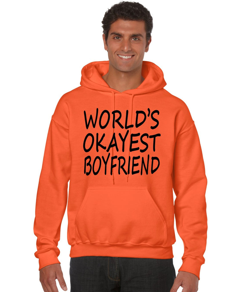 World's OKayest boyfriend men Hoodie - ALLNTRENDSHOP - 1