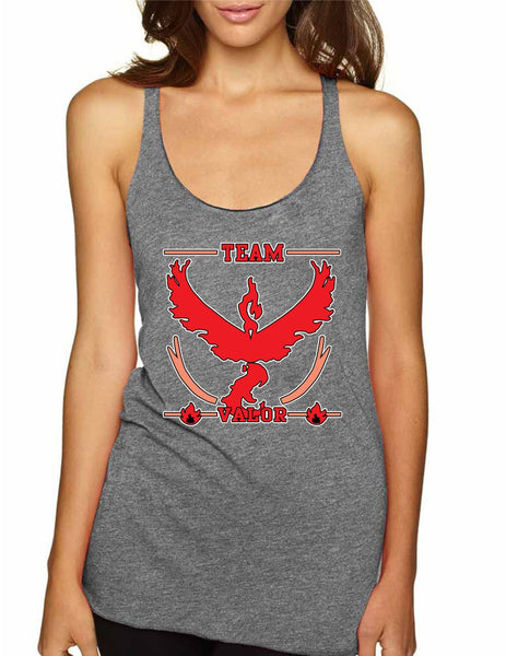Women's Tank Top Team Valor Red Team Cool Top - ALLNTRENDSHOP - 3