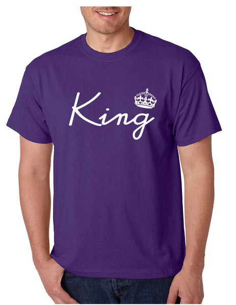King with crown men t-shirt - ALLNTRENDSHOP - 4