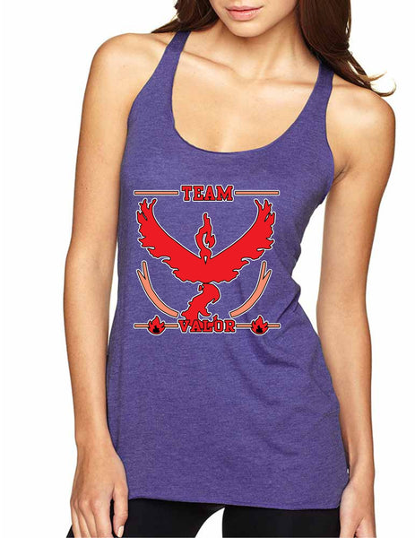 Women's Tank Top Team Valor Red Team Cool Top - ALLNTRENDSHOP - 4