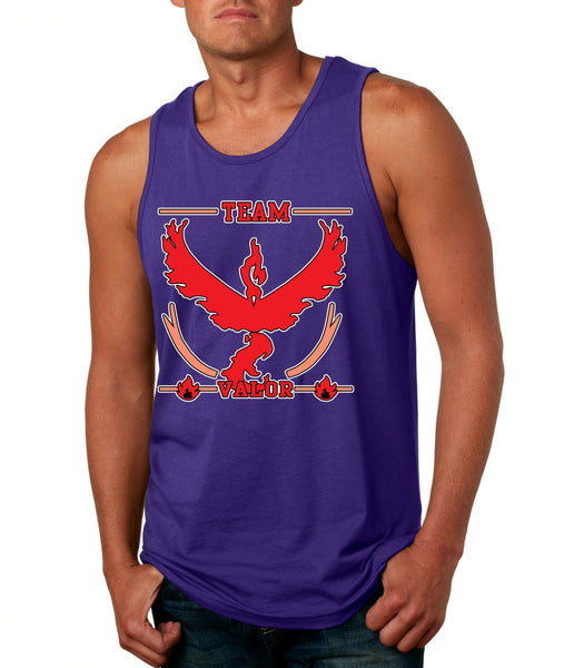 Men's Tank Top Team Valor Red Team Cool Top - ALLNTRENDSHOP - 4