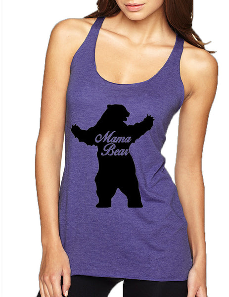 Women's Tank Top Mama Bear Family Top Mother Holiday Gift - ALLNTRENDSHOP - 5