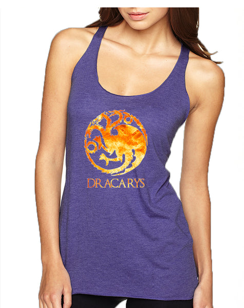 Women's Tank Top Dracarys Tank Cool Tredy Top