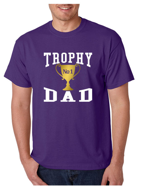 Men's T Shirt Trophy Dad Love Father Shirt Daddy Cool Gift - ALLNTRENDSHOP - 4