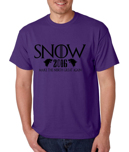 Snow 2016 Make The North Great Again men t shirt - ALLNTRENDSHOP - 6