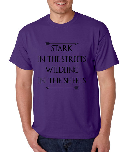 Stark in the streets wildling in the sheets mens t-shirt - ALLNTRENDSHOP - 4
