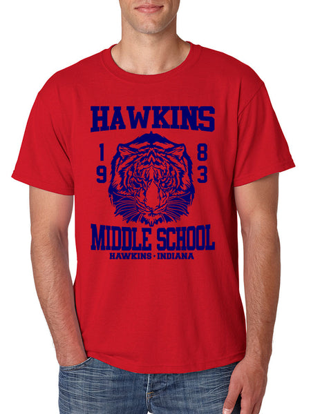 Men's T Shirt Hawkins Middle School 1983 - ALLNTRENDSHOP - 2