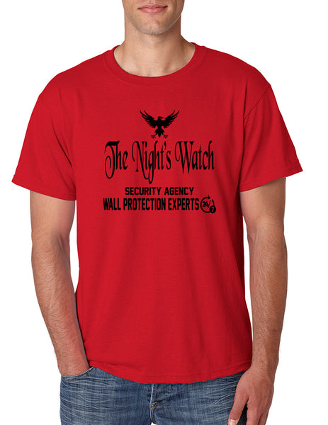 Men's T Shirt The Night Watch Security Agency Gift Cool Tee