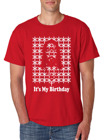 Its my birthday Jesus Mens T-shirt - ALLNTRENDSHOP - 1