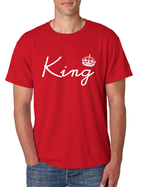 King with crown men t-shirt - ALLNTRENDSHOP - 7