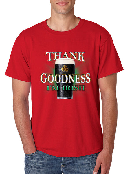 Thank Goodness Im Irish Men t-shirt - ALLNTRENDSHOP - 3