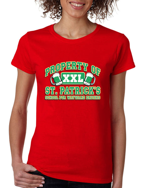 PROPERTY OF St patrick women t-shirt - ALLNTRENDSHOP - 4
