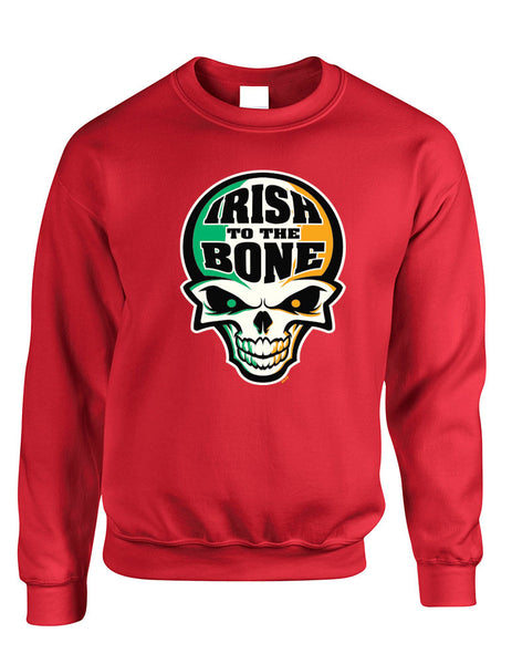 Irish To The Bone Skull women sweatshirt St Patrik - ALLNTRENDSHOP - 4