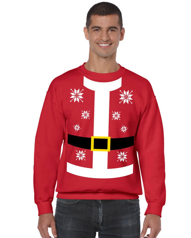 Santa suit Men's Sweatshirt - ALLNTRENDSHOP - 1