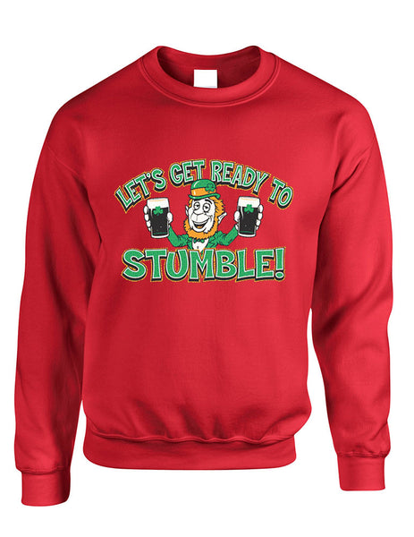 let`s get ready to stumble St patrick women sweatshirt - ALLNTRENDSHOP - 3