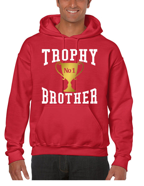Men's Hoodie Trophy Brother Love Family Gift Cool Graphic Top - ALLNTRENDSHOP - 5