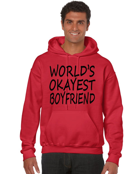 World's OKayest boyfriend men Hoodie - ALLNTRENDSHOP - 6