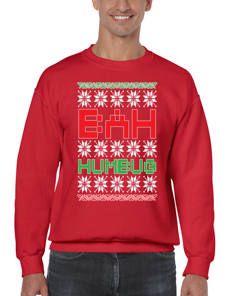 Bah Humbug christmas Men's Sweatshirt - ALLNTRENDSHOP